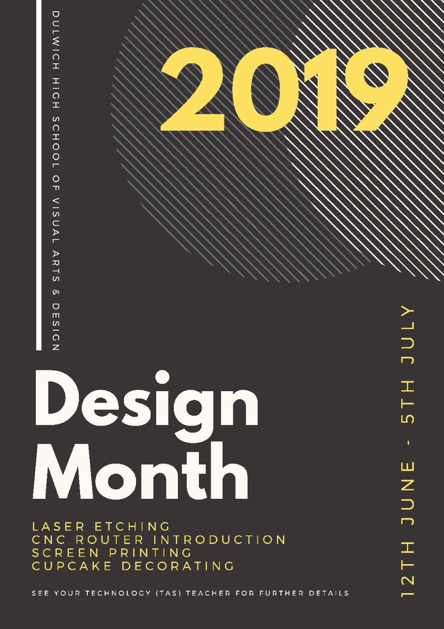 design month poster