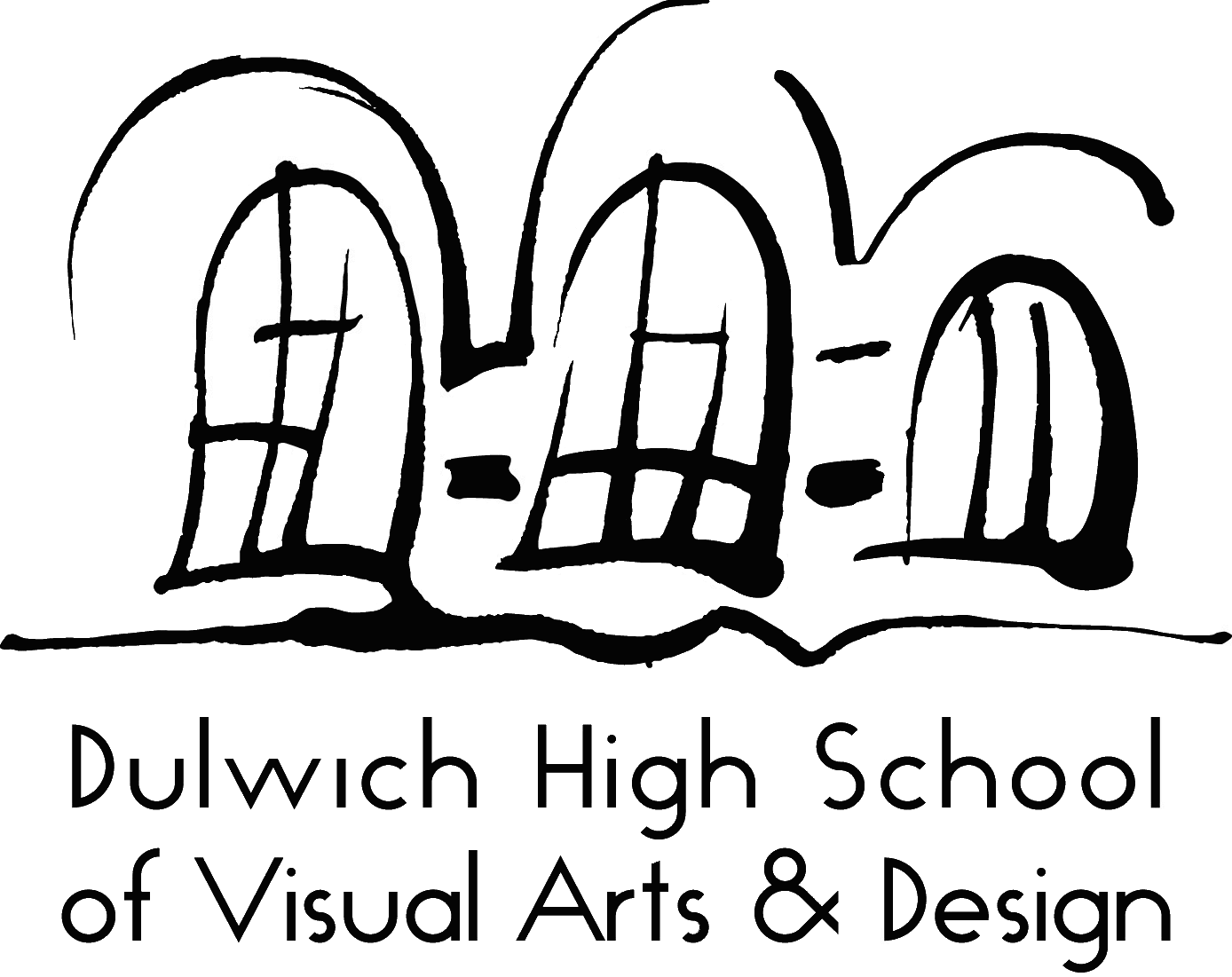 Dulwich High School of Visual Arts and Design logo